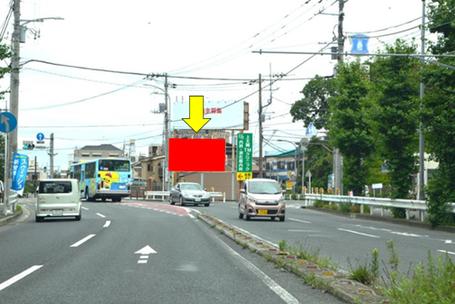 鎌倉街道 最戸橋・遠景