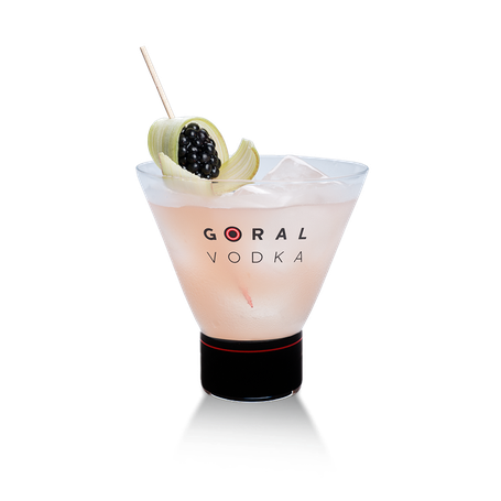 Goral Vodka Master 77 Mixed Drink