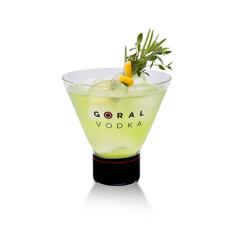 Goral Master 77 Vodka Drinks Mixed