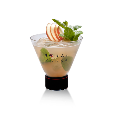 Goral Vodka Cocktail Applemint