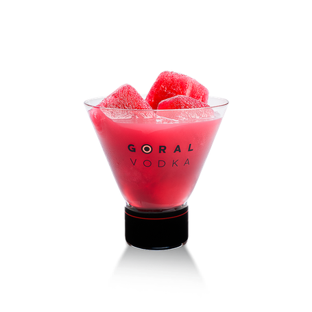 Goral Vodka Master 77 - Rezept Mixed Drink Red