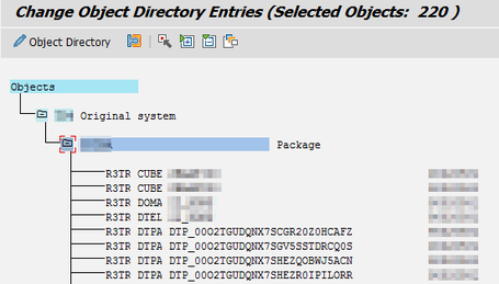 Change Object Directory Entries