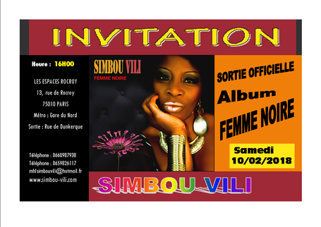 Invitation point presse de Simbou Vili