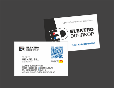 Michael Sill, Elektro Dührkop, Umfirmierung