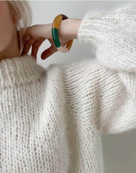 Strickset Louisiana Sweater von Petite Knit bei Wooltwist