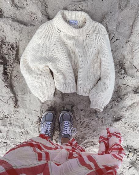 Luoisiana Sweater von Petite Knit als Strickset bei Wooltwist