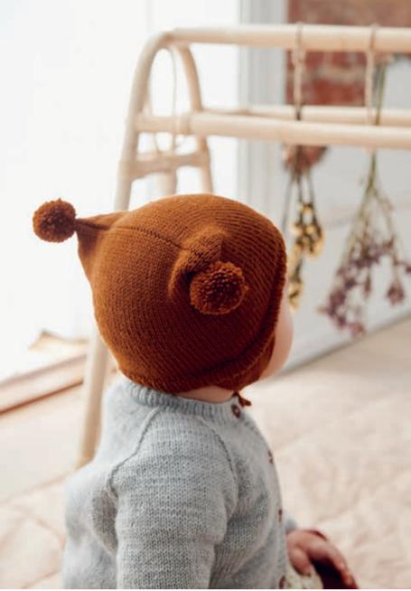 Strickset Babymütze, Basic Mütze von Sandnes Garn