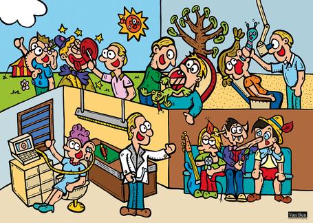 Dirk Van Bun Communicatie & Vormgeving - Illustraties - originele tekening - particulieren - uniek geschenk - gepersonaliseerd - op maat van uw wensen - canvas - Lommel