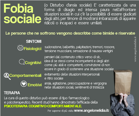 fobia sociale psicologo l'aquila www.angelonelidia.it