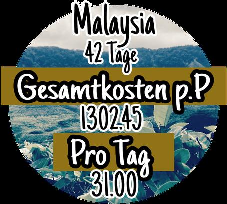 Reiskosten in Malaysia