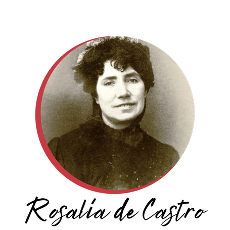 Rosalía de Castro, trilogía Ausencia, dolor y vanidad