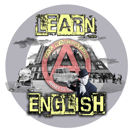 Learn English with Zak Washington logo