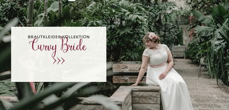 Curvy Bride - Brautkleider in großen Größen