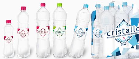 Cristallo Sortiment Mineralwasser