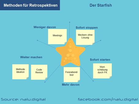 Methoden Retrospekiven - Starfish