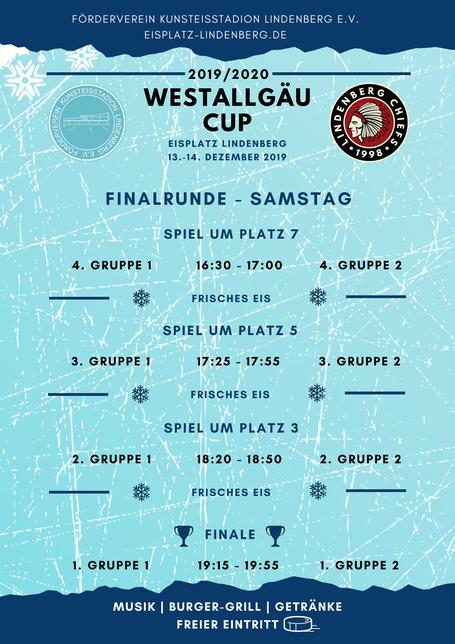 Spielplan Finalrunde Westallgäu Cup 2019/2020