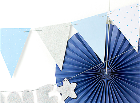 Happy Birthday Wimpel Wimpelkette Wimpelgirlande rosa blau silber gold Girlande Banner Deko Dekoration Aufhänger zum Aufhängen Ballons Geburtstag Feier Party Kindergeburtstag Mädchen Junge hellblau rosa blau elegant edel exklusiv Luftballon