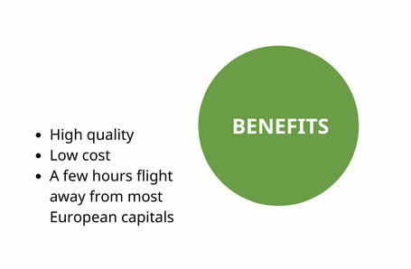 Benefits with UA Destination
