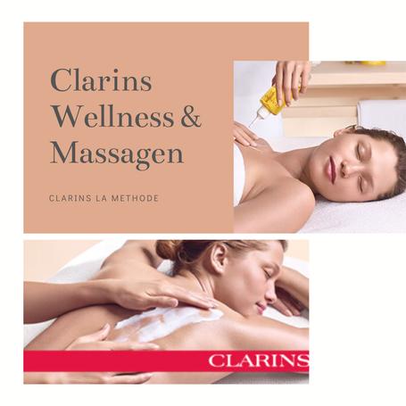 "Clarins ""Alles im Fluss"" Körpermassage & Gesichtsbehandlung"