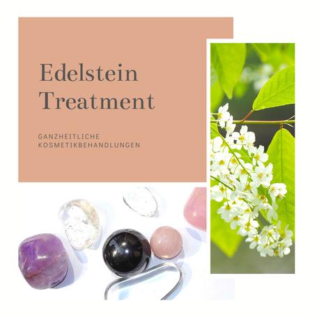Edelstein-Treatment für eine strahlende Haut