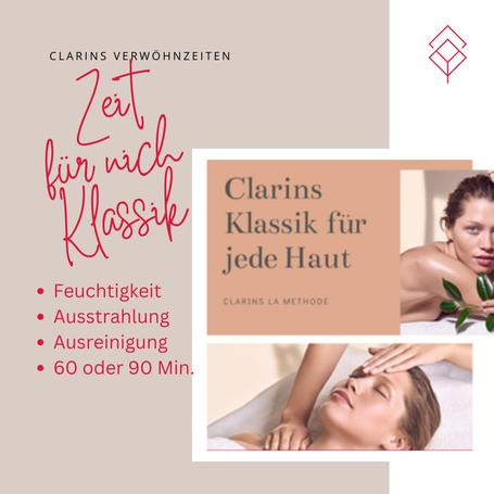 Clarins Klassikbehandlung für jede Haut und Alter
