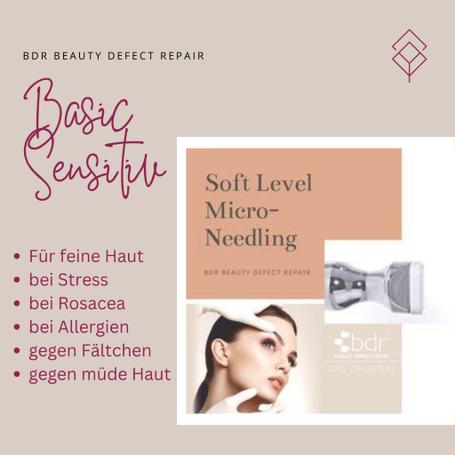 bdr - Perforation - Soft Level Micro-Needling, für eine empfindliche Haut