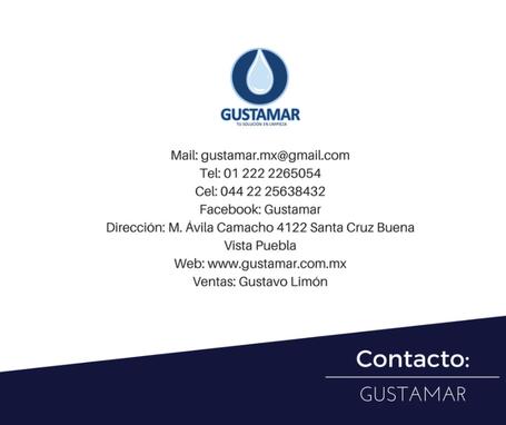 DATOS DE CONTACTO GUSTAMAR