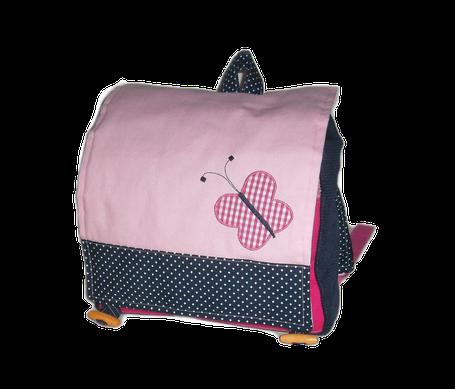 Rucksack für Mädchen mit Schmetterling