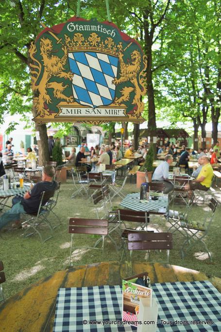 Beach bar Munich
