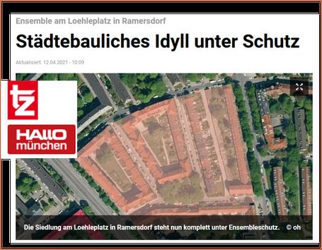 Quelle: TZ, Hallo München 12.04.2021