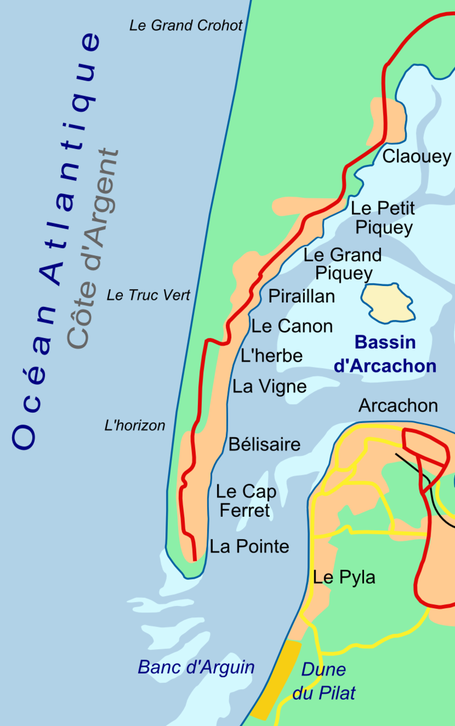 Cap Ferret (Source : Wikipedia/Larrousiney)