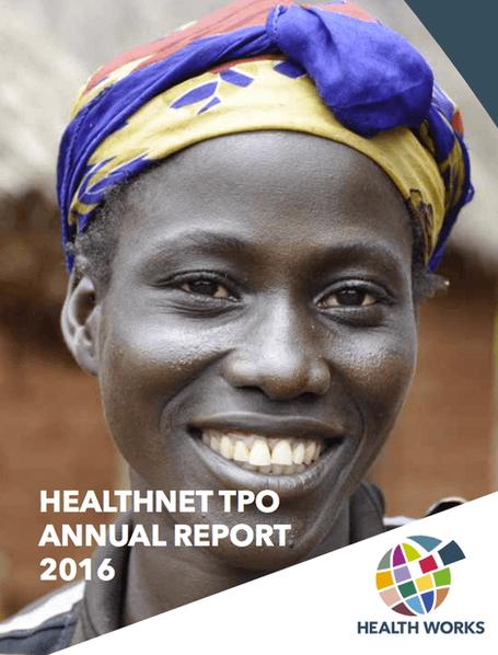 Voor Health Works maken we de jaarverslagen sinds 2016