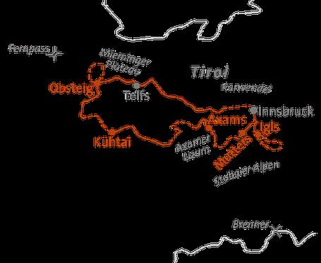 Innsbruck Trek - Weitwandern für Anfänger und Verwöhnte