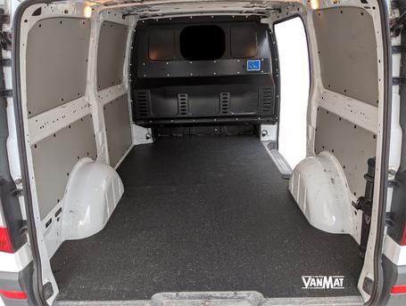 VanMat Antirutschmatte für Transporter Citroen Dacia Fiat Ford Iveco Mercedes Nissan Opel Peugeot Renault Skoda VW