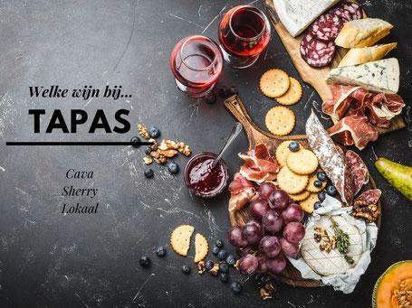Welke wijn bij tapas