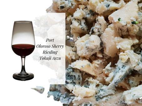 Welke wijn bij Stilton
