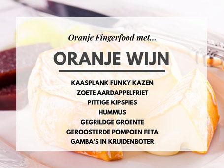 Oranje Wijn Fingerfood