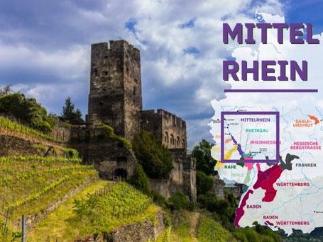 Wijngebieden Duitsland #5 Mittelrhein