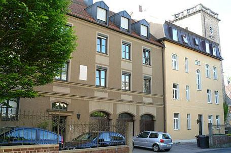 Augsburg, Springergässchen 8: hier wohnte Rudolf Diesel wädhrend seiner Augsburger Zeit