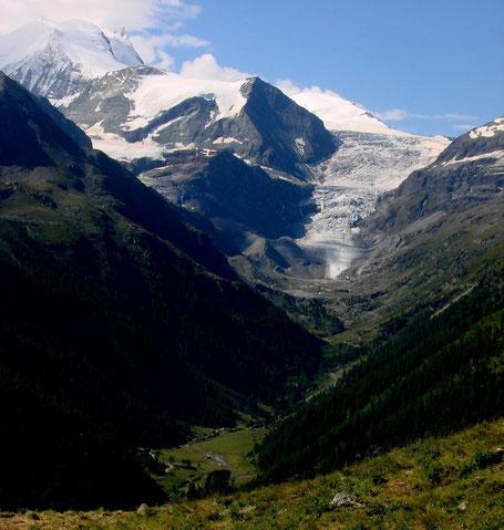 il Bishorn visto dall'alpe Meide