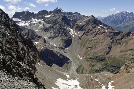 Panorama dal colle Valcournera