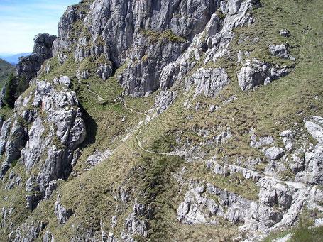 il sentiero Degli Stradini