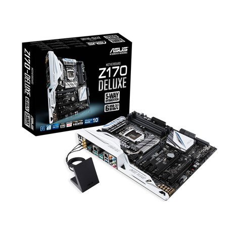 ASUS Z170-Deluxe disponible ici.