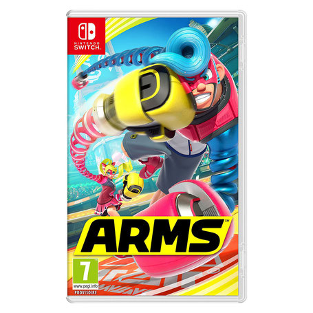 Arms est prévupour le 16 juin 2017 sur Nintendo Switch.