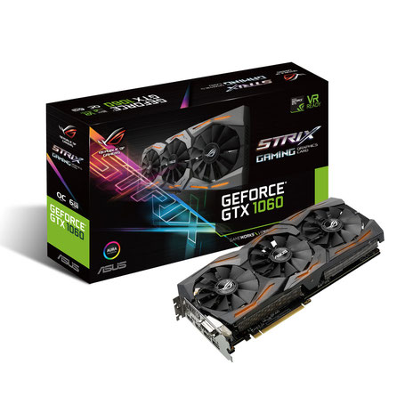 ASUS ROG STRIX-GTX1060-O6G-GAMING - GeForce GTX 1060 disponible ici.