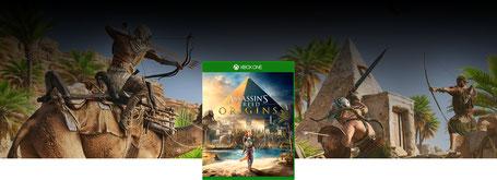 Assassin's Creed Origins est prévupour le 27 octobre 2017 surPC, Xbox One et PS4.