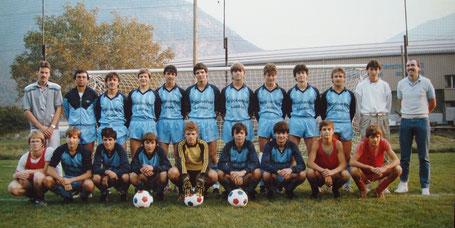 Junioren A 1986