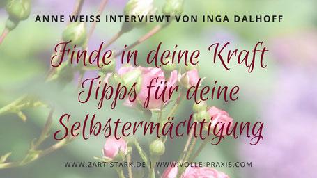 """Bildhintergrund wilde Rosen """"Anne Weiß interviewt von Inga Dalhoff"""""""