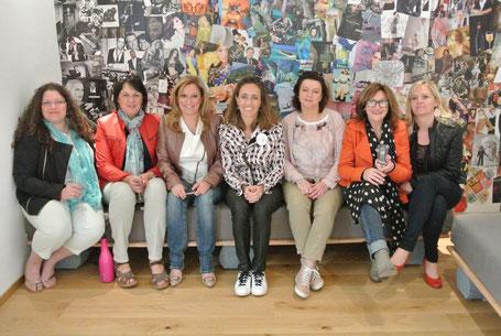 Les décoratrices de l'UFDI visitent Liège