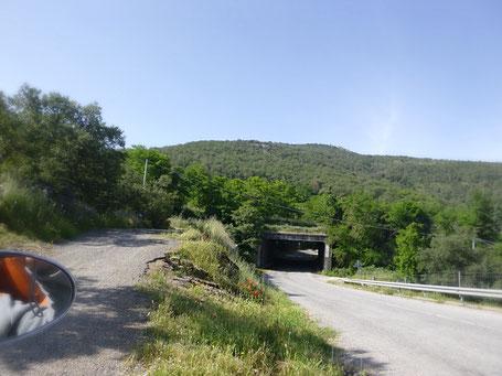 Straße auf Sardinien